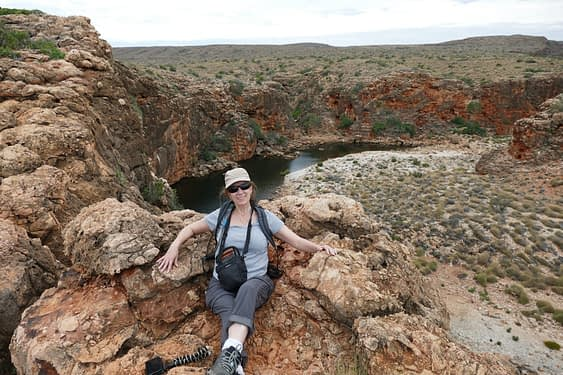 things to do in exmouth - hike the yardie gorge, sit down and marvel its beauty