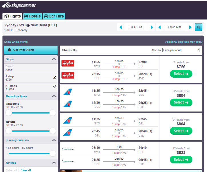 book the cheapest flight